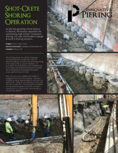 Deep Foundation Repair Project - Delano, Minnesota - Innovative Piering